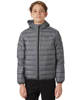 DARK GREY HEATHER KIDS BOYS QUIKSILVER JUMPERS + JACKETS - EQBJK03145KYH6