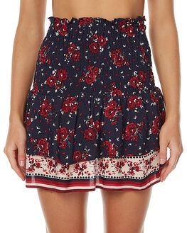 FLORAL BORDER WOMENS CLOTHING THE HIDDEN WAY SKIRTS - H8172474MUL