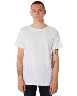 WHITE MENS CLOTHING DR DENIM TEES - 1611131199WHT