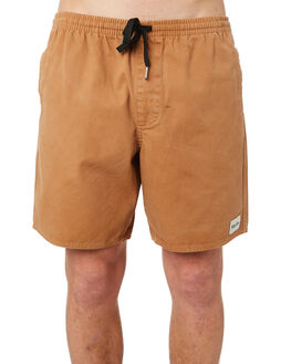 TOBACCO MENS CLOTHING RHYTHM SHORTS - OCT18M-JM01-TOB