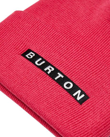 PUNCHY PINK MENS ACCESSORIES BURTON HEADWEAR - 171111650