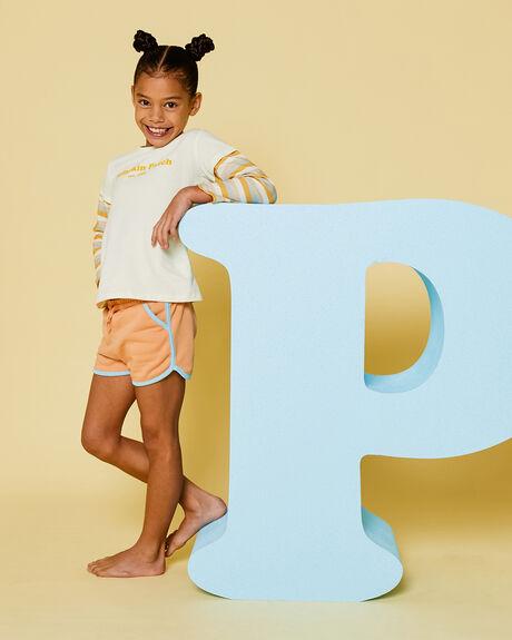 PEACH KIDS GIRLS PUMPKIN PATCH SHORTS + SKIRTS - 20TG8019SHPEACH