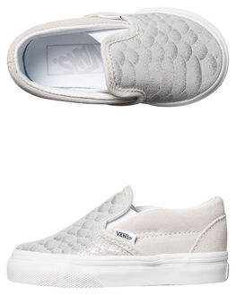 SILVER KIDS TODDLER GIRLS VANS FOOTWEAR - VNA32QJOFASIL