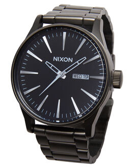 GUNMETAL BLUE CRYSTAL MENS ACCESSORIES NIXON WATCHES - A3561427
