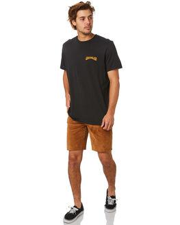 WORN BLACK MENS CLOTHING WRANGLER TEES - W-901680-082WBLK
