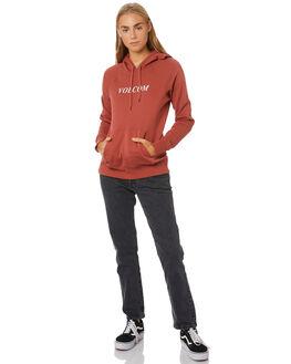 TERRACOTTA WOMENS CLOTHING VOLCOM JUMPERS - B3111886-TERRA