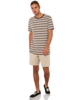 PANAMA BROWN MENS CLOTHING RHYTHM TEES - JAN18M-CT03BRO