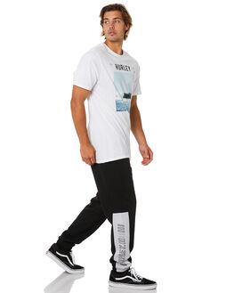 BLACK MENS CLOTHING HURLEY PANTS - CJ5699010