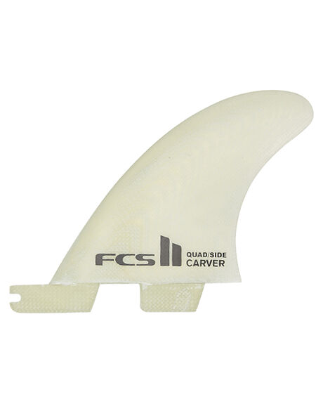 CLEAR BOARDSPORTS SURF FCS FINS - FCAR-PG01-SS-RS-RCLE