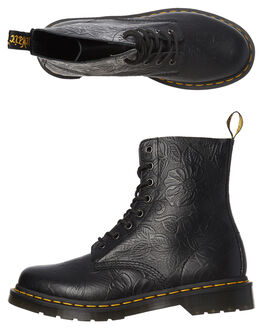 BLACK WOMENS FOOTWEAR DR. MARTENS BOOTS - SS24002001BLKW