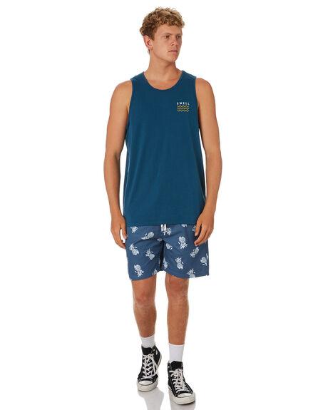 BLUE BOTTLE MENS CLOTHING SWELL SINGLETS - S5202279BLBOT