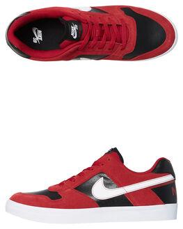 RED CRUSH MENS FOOTWEAR NIKE SKATE SHOES - 942237-610