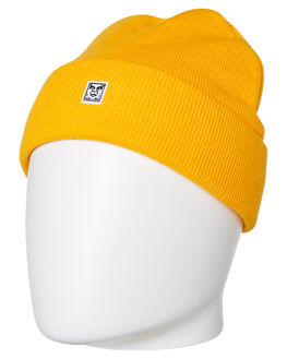 ENERGY YELLOW MENS ACCESSORIES OBEY HEADWEAR - 100030143EYL