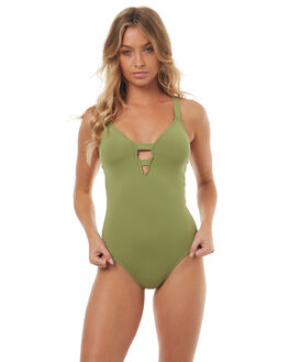 MOSS WOMENS SWIMWEAR SEAFOLLY ONE PIECES - 10634-058MOSS