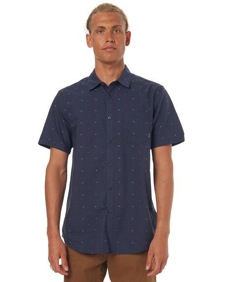 NAVY MENS CLOTHING BILLABONG SHIRTS - 9571204NAVY