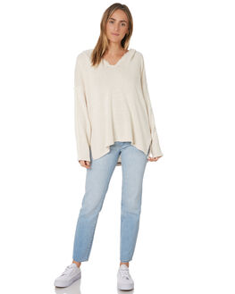TAUPE WOMENS CLOTHING RIP CURL KNITS + CARDIGANS - GSWAA95067