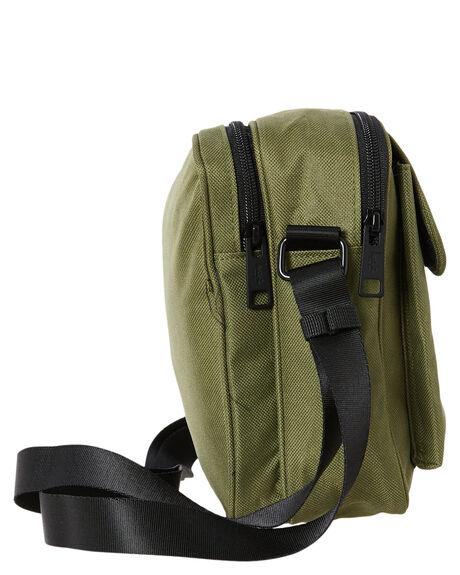 FLIGHT GREEN MENS ACCESSORIES STUSSY BAGS + BACKPACKS - ST706011FGRN