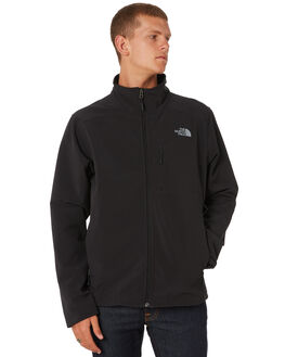 TNF BLACK MENS CLOTHING THE NORTH FACE JACKETS - NF0A2RE7JK3