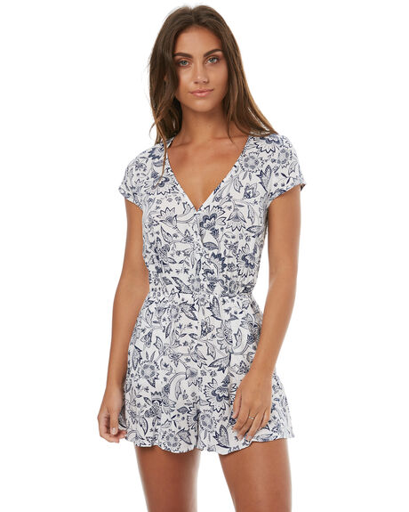 FLORAL WOMENS CLOTHING TIGERLILY PLAYSUITS + OVERALLS - T372445FLO