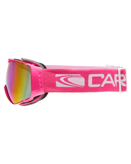 PINK PINK REVO SNOW ACCESSORIES CARVE GOGGLES - 6053PNK