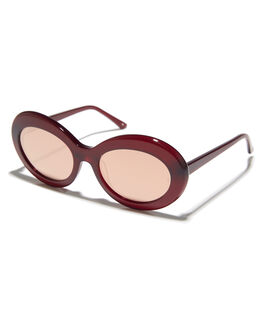 RED WOMENS ACCESSORIES SUNDAY SOMEWHERE SUNGLASSES - SUN089-RED-SUNRED