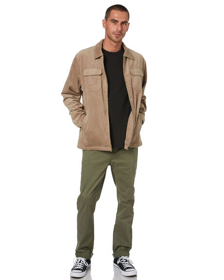 ALMOND MENS CLOTHING KATIN JACKETS - JKKAN07ALMD