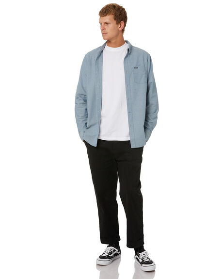 BLUE MENS CLOTHING VOLCOM SHIRTS - A05318R0BLUE