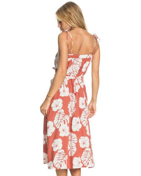 MARSALA ISHA WOMENS CLOTHING ROXY DRESSES - ERJWD03540-MPD6