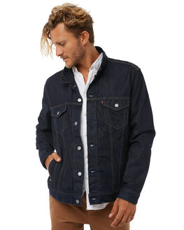 ETERNAL INDIGO MENS CLOTHING OUTERKNOWN JACKETS - 24766EFI