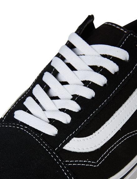 BLACK WOMENS FOOTWEAR VANS SNEAKERS - SSVNA3WMAVNEW