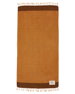 RUST WOMENS ACCESSORIES MAYDE TOWELS - 18TREARST