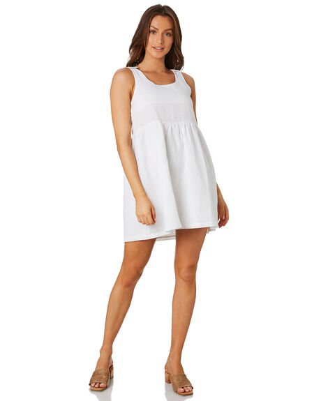 WHITE WOMENS CLOTHING SWELL DRESSES - S8202441WHITE