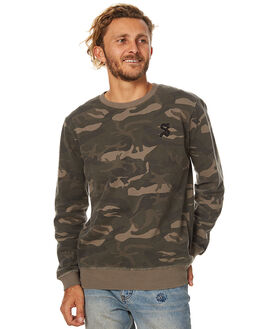 CAMO MENS CLOTHING SWELL JUMPERS - S5173447CAMO