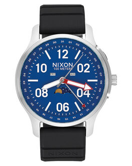 SILVER BLUE MENS ACCESSORIES NIXON WATCHES - A1209722