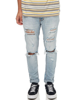 WORN RIOT MENS CLOTHING A.BRAND JEANS - 81046B3614