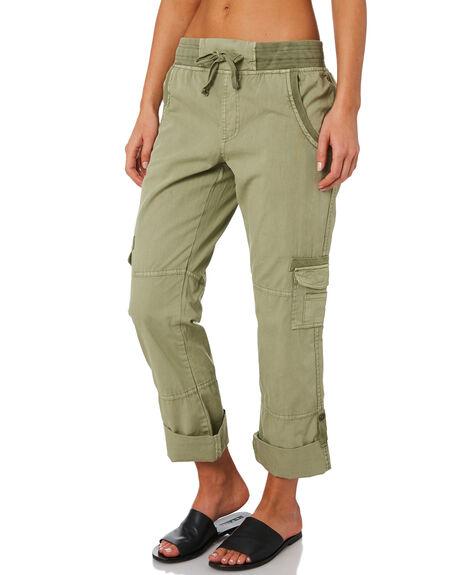 KHAKI WOMENS CLOTHING SWELL PANTS - S8201191KHAKI