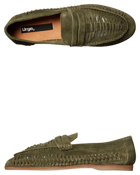 OLIVE MENS FOOTWEAR URGE FASHION SHOES - URG17050OLI