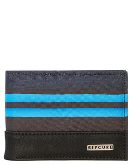 BLACK BLUE MENS ACCESSORIES RIP CURL WALLETS - BWUMD10107