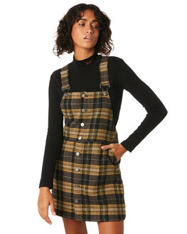 PLAID WOMENS CLOTHING RVCA DRESSES - R293760PLA