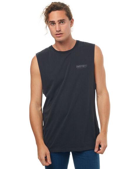 BLACK MENS CLOTHING INSIGHT SINGLETS - 5000000306BLK
