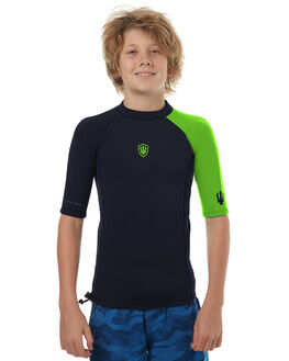 BLACK LIGHT GREEN SURF WETSUITS FAR KING VESTS - 2162BLG