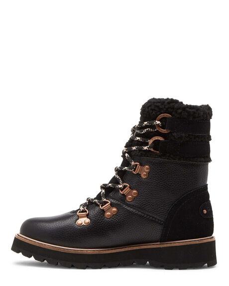 BLACK WOMENS FOOTWEAR ROXY BOOTS - ARJB700700-BLK