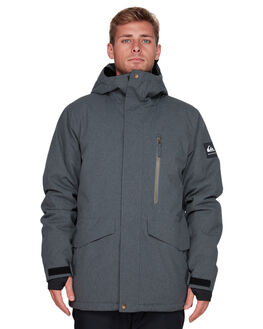 BLACK HEATHER BOARDSPORTS SNOW QUIKSILVER MENS - EQYTJ03221-KRPH