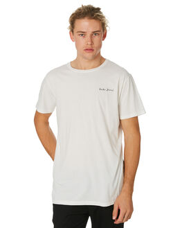 OFF WHITE MENS CLOTHING BANKS TEES - WTS0383OWH
