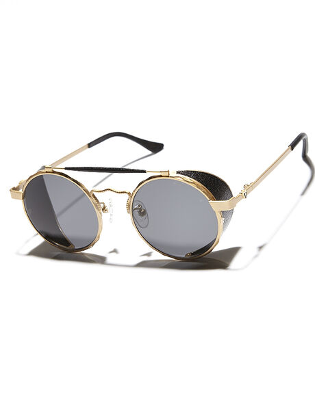 24K GOLD BLACK UNISEX ADULTS VALLEY SUNGLASSES - S018024KGL