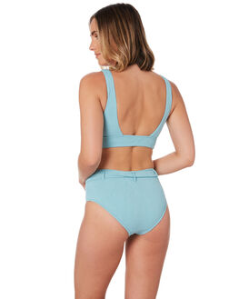 NILE BLUE WOMENS SWIMWEAR SEAFOLLY BIKINI BOTTOMS - 40605-708NLBLU