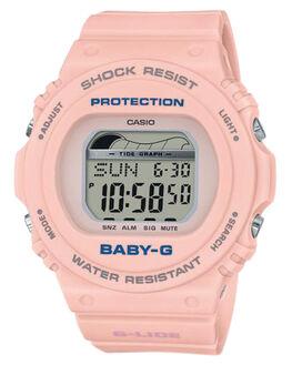 PEACH WOMENS ACCESSORIES BABY G WATCHES - BLX570-4DPEA