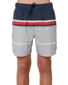 GREY KIDS BOYS RIP CURL BOARDSHORTS - KBOQZ10080
