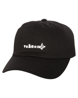 BLACK MENS ACCESSORIES VOLCOM HEADWEAR - D5531807BLK