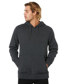 BLACK HEATHER MENS CLOTHING HURLEY JUMPERS - CD6068032